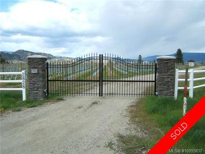 Kelowna Agricultural - ALR for sale:  Studio  (Listed 2015-03-14)